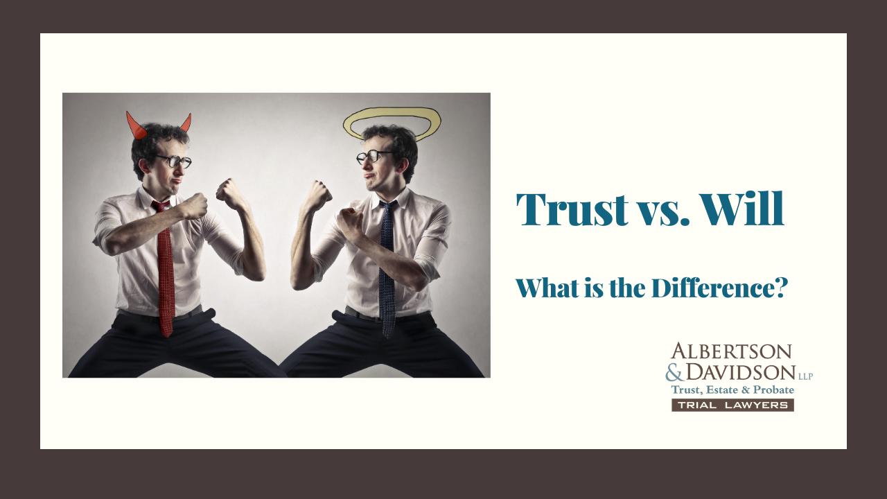 2020.12.28 Trust vs. Will